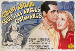 Only Angels Have Wings - 27 x 40 Movie Poster - French Style B