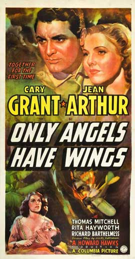 Only Angels Have Wings - 20 x 40 Movie Poster - Style B