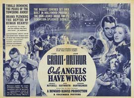 Only Angels Have Wings - 22 x 28 Movie Poster - Style A