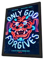 Only God Forgives - 11 x 17 Movie Poster - Style A - in Deluxe Wood Frame