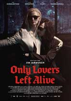 Only Lovers Left Alive - 11 x 17 Movie Poster - German Style B