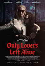 Only Lovers Left Alive - 27 x 40 Movie Poster - German Style B