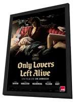 Only Lovers Left Alive - 27 x 40 Movie Poster - French Style A - in Deluxe Wood Frame