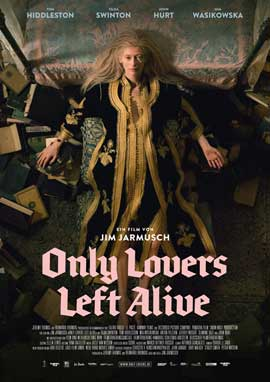 Only Lovers Left Alive - 11 x 17 Movie Poster - German Style A
