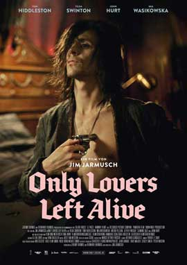 Only Lovers Left Alive - 11 x 17 Movie Poster - German Style C