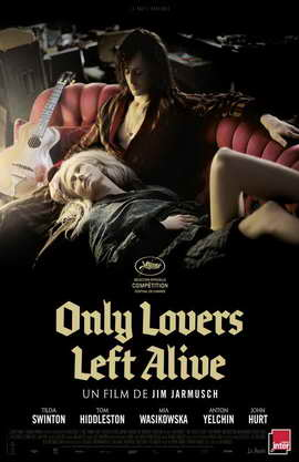 Only Lovers Left Alive - 11 x 17 Movie Poster - French Style A