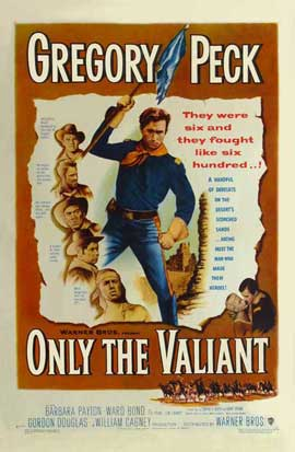Only the Valiant - 11 x 17 Movie Poster - Style A