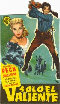 Only the Valiant - 27 x 40 Movie Poster - Spanish Style A