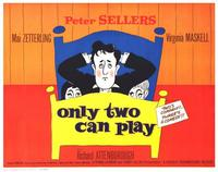 Only Two Can Play - 11 x 14 Movie Poster - Style A