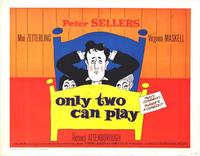 Only Two Can Play - 27 x 40 Movie Poster - Style A