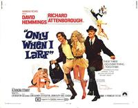 Only When I Larf - 11 x 14 Movie Poster - Style A
