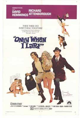 Only When I Larf - 11 x 17 Movie Poster - Style A