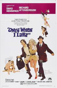 Only When I Larf - 43 x 62 Movie Poster - Bus Shelter Style A