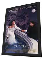 Only You - 11 x 17 Movie Poster - Style A - in Deluxe Wood Frame