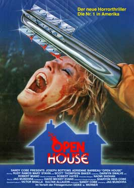 Open House - 11 x 17 Movie Poster - German Style A