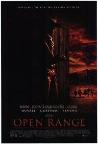 Open Range - 43 x 62 Movie Poster - Bus Shelter Style A