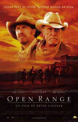 Open Range - 11 x 17 Movie Poster - French Style A