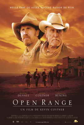 Open Range - 27 x 40 Movie Poster - French Style A