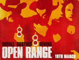 Open Range - 11 x 17 Movie Poster - UK Style A