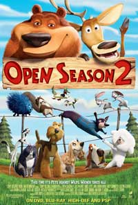 Open Season 2 - 43 x 62 Movie Poster - Bus Shelter Style A