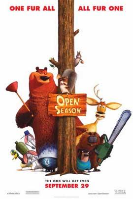 Open Season - 11 x 17 Movie Poster - Style B