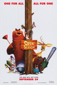 Open Season - 43 x 62 Movie Poster - Bus Shelter Style A