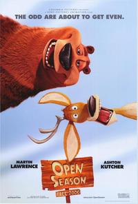Open Season - 43 x 62 Movie Poster - Bus Shelter Style B