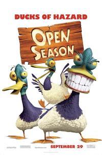 Open Season - 11 x 17 Movie Poster - Style E