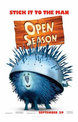 Open Season - 11 x 17 Movie Poster - Style F