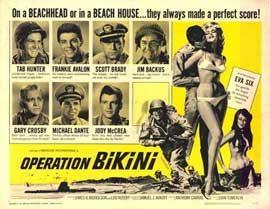 Operation Bikini - 22 x 28 Movie Poster - Half Sheet Style A