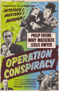 Operation Conspiracy - 11 x 17 Movie Poster - Style A