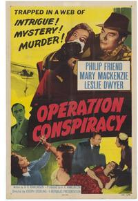 Operation Conspiracy - 11 x 17 Movie Poster - Style B