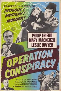Operation Conspiracy - 27 x 40 Movie Poster - Style A