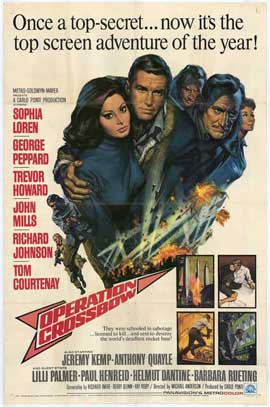 Operation Crossbow - 27 x 40 Movie Poster - Style A