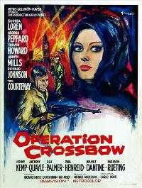 Operation Crossbow - 11 x 17 Movie Poster - Belgian Style A