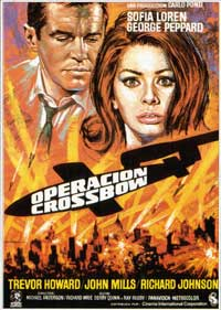 Operation Crossbow - 11 x 17 Movie Poster - Spanish Style A