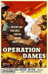 Operation Dames - 27 x 40 Movie Poster - Style A
