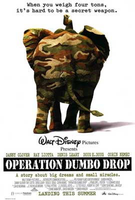 Operation Dumbo Drop - 27 x 40 Movie Poster - Style A