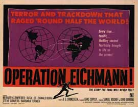 Operation Eichmann - 11 x 14 Movie Poster - Style A