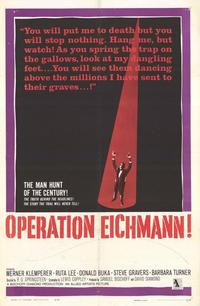 Operation Eichmann - 27 x 40 Movie Poster - Style A