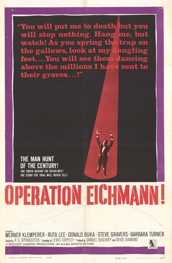 Operation Eichmann movie