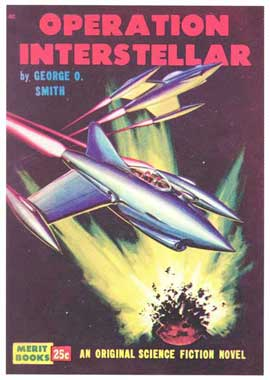 Operation Interstellar - 11 x 17 Retro Book Cover Poster