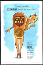 Operation Mad Ball - 11 x 17 Movie Poster - Style A