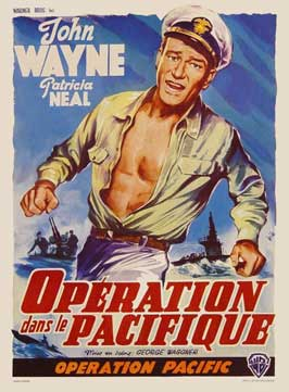Operation Pacific - 11 x 17 Movie Poster - Belgian Style A