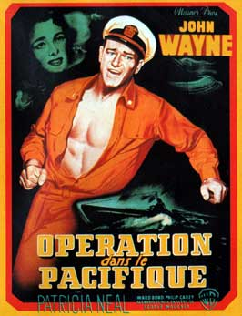 Operation Pacific - 11 x 17 Movie Poster - French Style A