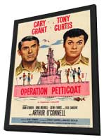 Operation Petticoat - 11 x 17 Movie Poster - Style A - in Deluxe Wood Frame