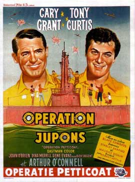 Operation Petticoat - 27 x 40 Movie Poster - Belgian Style A