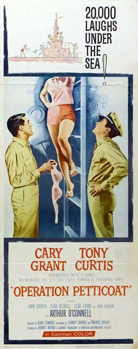Operation Petticoat - 14 x 36 Movie Poster - Insert Style A