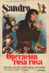 Operation Rosa Rosa - 11 x 17 Movie Poster - Spanish Style A
