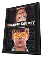 Orange County - 27 x 40 Movie Poster - Style A - in Deluxe Wood Frame